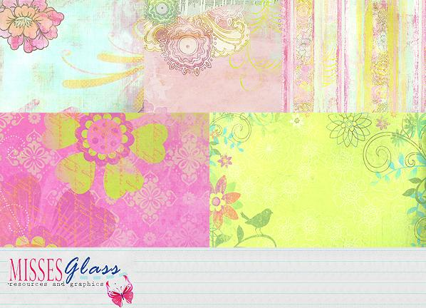 5 Scrapbook scans 0809 by Missesglass photoshop resource collected by psd-dude.com from deviantart