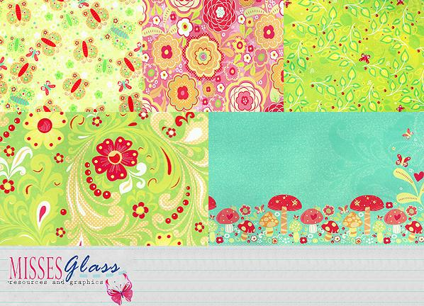 5 scrapbook scans S12 by Missesglass photoshop resource collected by psd-dude.com from deviantart