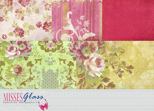 5 scrapbook scans S18 by Missesglass photoshop resource collected by psd-dude.com from deviantart