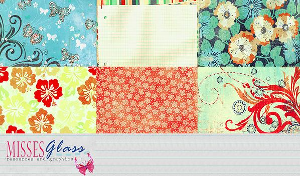 6 Scrapbook scans S11 by Missesglass photoshop resource collected by psd-dude.com from deviantart
