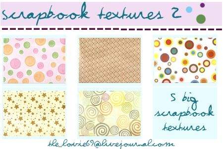 scrapbook textures 2 by hearXtheXsirens photoshop resource collected by psd-dude.com from deviantart