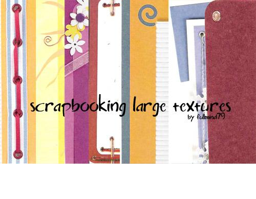 Textures 6 Scrapbooking by fullmind79 photoshop resource collected by psd-dude.com from deviantart
