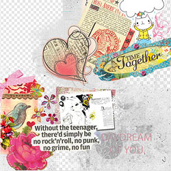 Scrapbook Backgrounds and Textures psd-dude.com Resources
