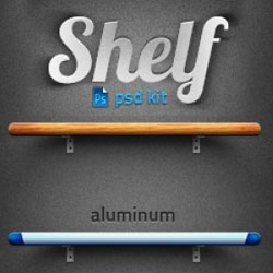 Shelf PSD Layered Files with Free Download psd-dude.com Resources