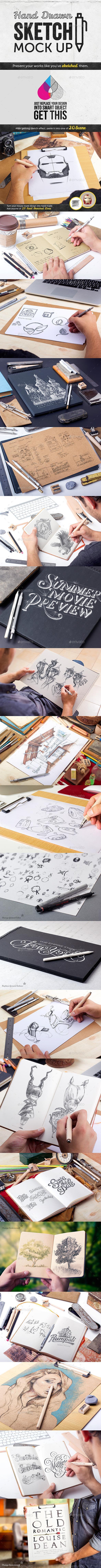 Creative Hand Drawn Sketch Mockup