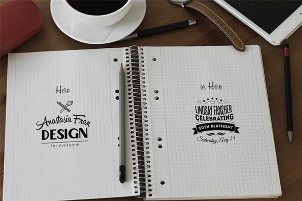 Notebook Mockup to Showcase Your Sketches