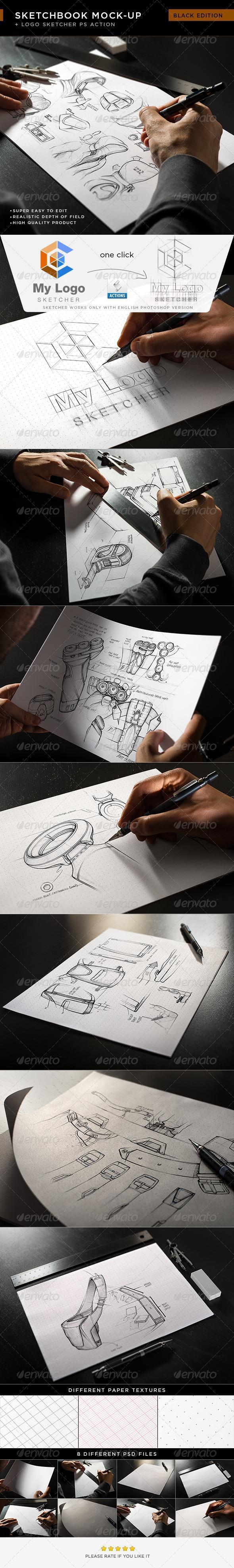 Sketch Mockups with Drawing Hand