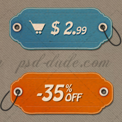 <span class='searchHighlight'>Price</span> <span class='searchHighlight'>tag</span> icons with free customizable PSD file psd-dude.com Resources