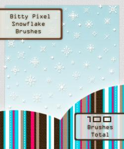Pixel Snowflake BrushesBitty Pixel Brushes Set1Bitty Pixel Brushes Set2Pixel Snowflake BrushesMoD BeLLe Pattern SetDamask Brites Patterns by kittenbella photoshop resource collected by psd-dude.com from deviantart