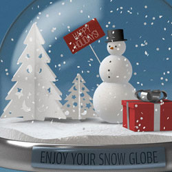 Photoshop Text Effects Tutorials 2013 Snow Globe Photoshop C...