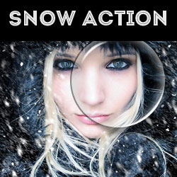 Create Snow Effect Photoshop Free Action psd-dude.com Resources