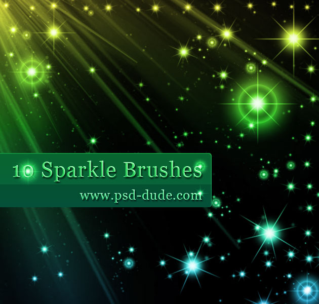 photoshop sparkle