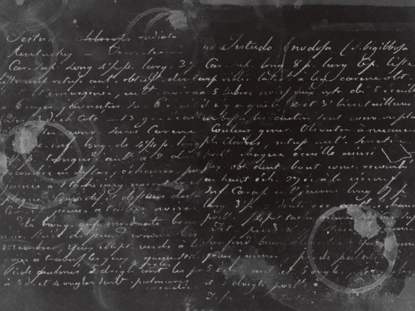 Black paper texture with creepy writings