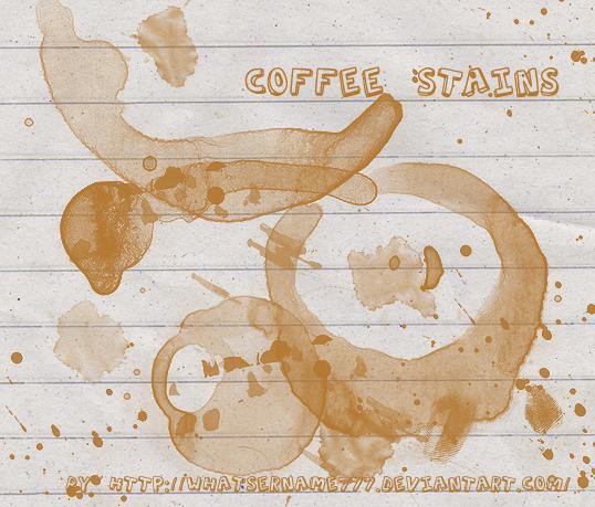 Coffee StainsMakeUp BrushesAbstract Brushes 2Smudge BrushesCoffee StainsPaint Splatters by Whatsername777 photoshop resource collected by psd-dude.com from deviantart