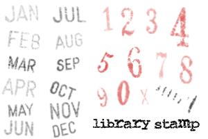 Library Stamp Brush Set by bluebug photoshop resource collected by psd-dude.com from deviantart