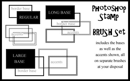 Photoshop Stamp Brushset by DoItForTheLulz photoshop resource collected by psd-dude.com from deviantart