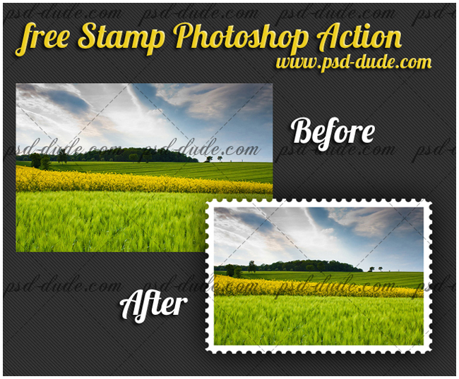 Stamp Generator Photoshop