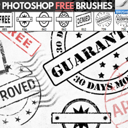 Rubber <span class='searchHighlight'>Stamp</span> Brushes for Photoshop psd-dude.com Resources
