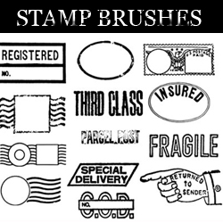 <span class='searchHighlight'>Stamp</span> Brushes for Photoshop psd-dude.com Resources