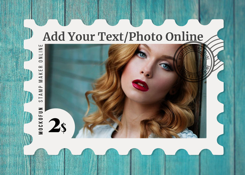 Postage Stamp Online Template