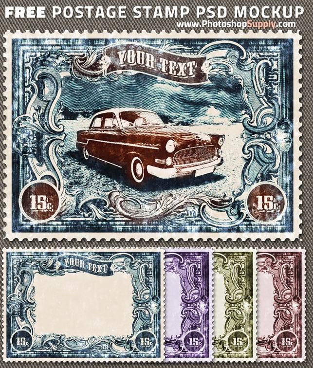 Stamp PSD Templates - Free Download | PSDDude