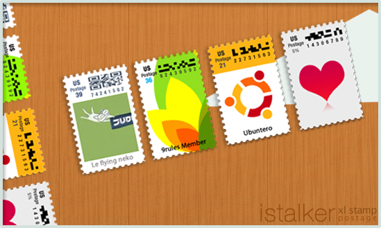 xl stamp postage by chaos-kaizer photoshop resource collected by psd-dude.com from deviantart