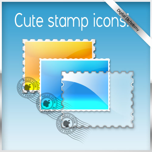 Stamp Template by NINKY photoshop resource collected by psd-dude.com from deviantart