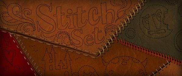 Resource Sewing Stitches Brush Set by ConceptCookie photoshop resource collected by psd-dude.com from deviantart