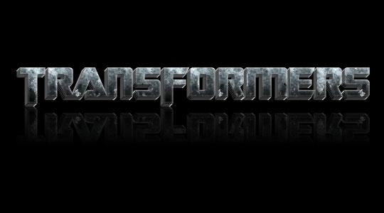 Transformers Grunge Stone Text In Photoshop