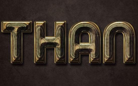 Polished stone text effect Photoshop tutorial