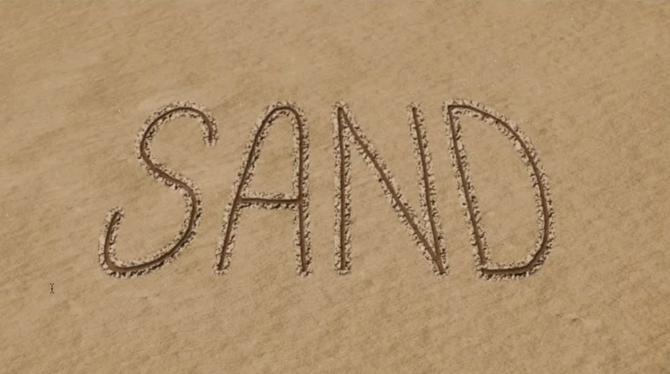 Beach Sand Writing  Effect Photoshop Video Tutorial