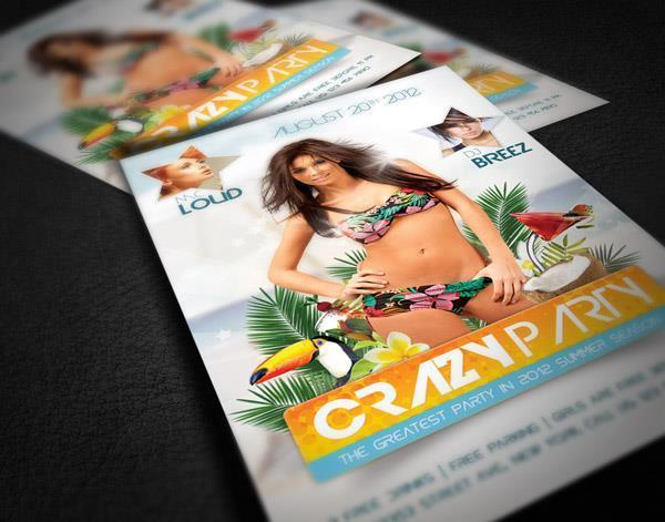 Create an amazing summer flyer design in Photoshop