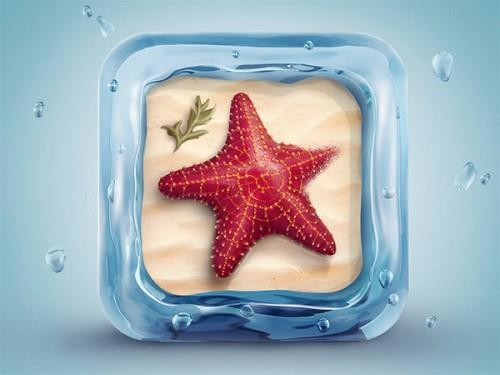 Make a Starfish Icon in Photoshop