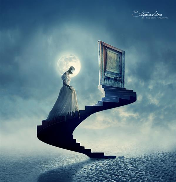 Stairway to heaven Surreal Photo Manipulation