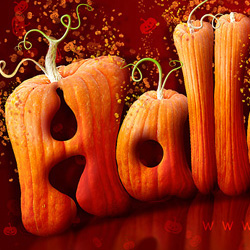20 Terrifying Halloween Text Effects Photoshop Tutorials psd-dude.com Resources