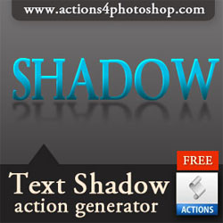 Text Shadow <span class='searchHighlight'>Reflection</span> Photoshop Action psd-dude.com Resources