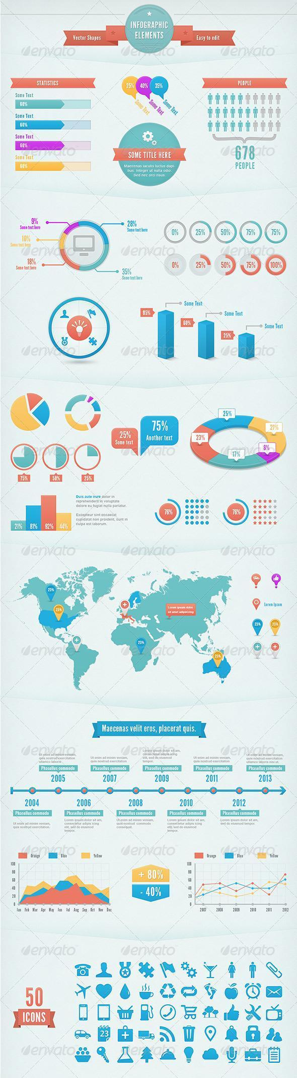 Create the Best Infographic Temlates