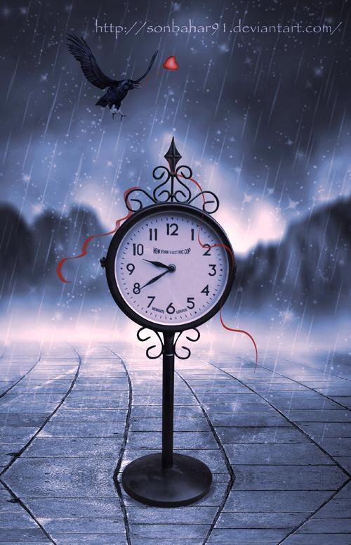 Clock and Time Photoshop Manipulation