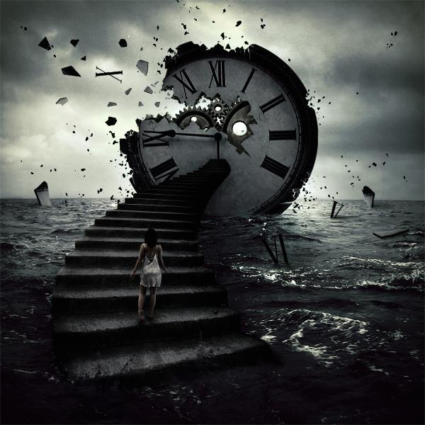 Time Distruction Photoshop Manipulation