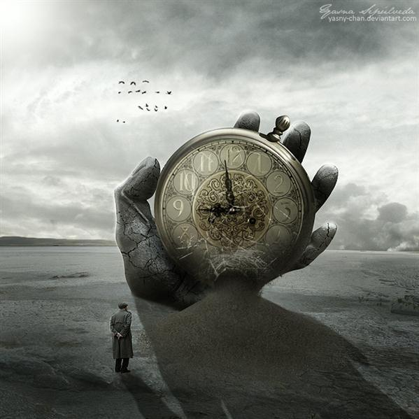 Time Surreal Photo Manipulation