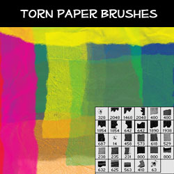 Torn <span class='searchHighlight'>Paper</span> Brushes | PSDDude psd-dude.com Resources