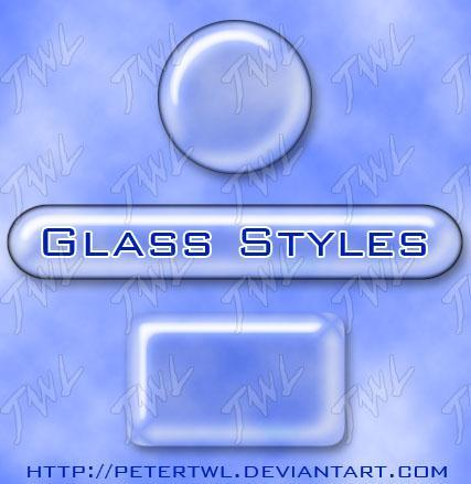Transparent Glass Style for PS - Free
