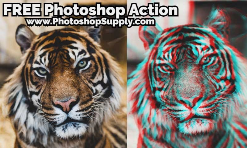 3D Effect Photoshop