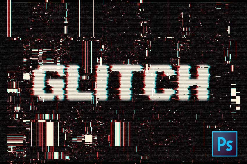 Glitch Text (Photoshop Tutorial)