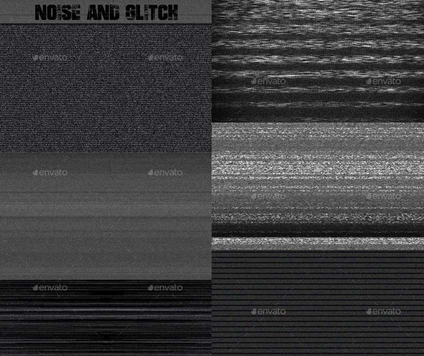 Noise and Glitch Textures