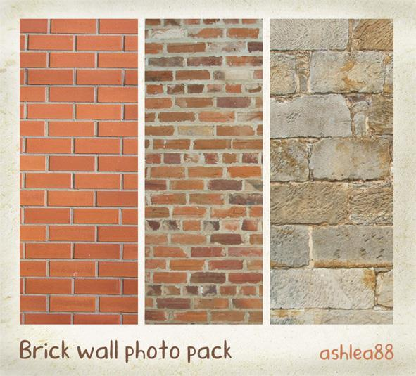 Brick Wall Backgrounds Image Pack