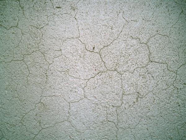 Cracked Concrete Interior Wall