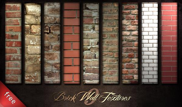 Different Brick Wall Textures