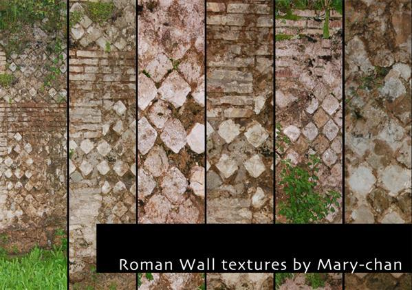 Roman Wall Texture Pack
