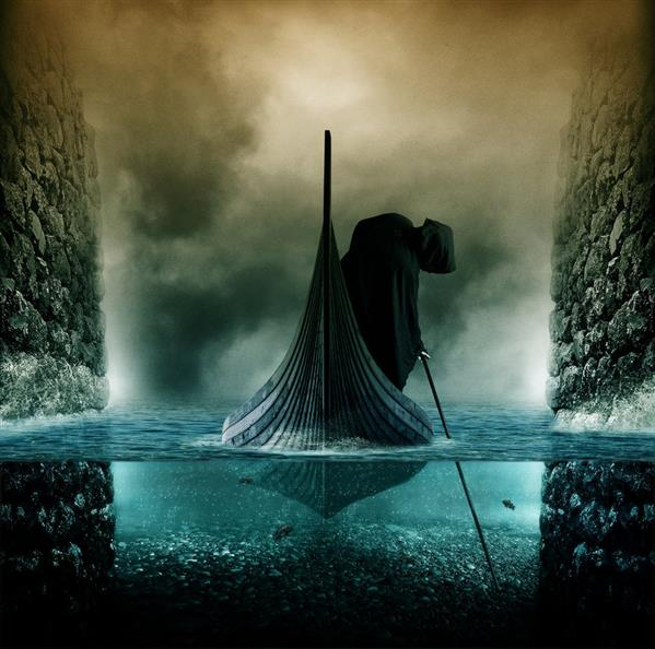 Death Portal Underwater Photo Manipulation